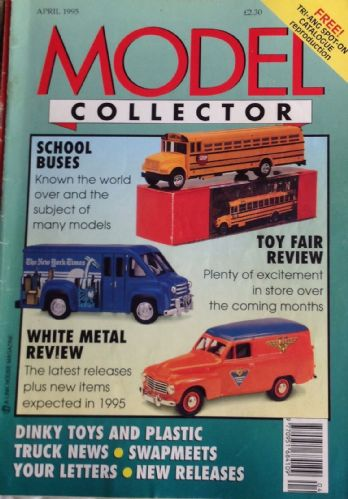 ORIGINAL MODEL COLLECTOR MAGAZINE April 1995